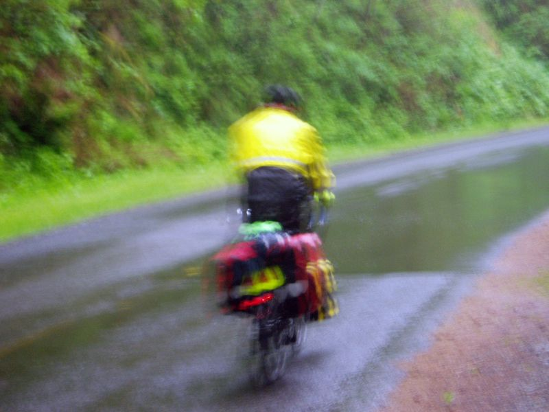 Mike-in-rain