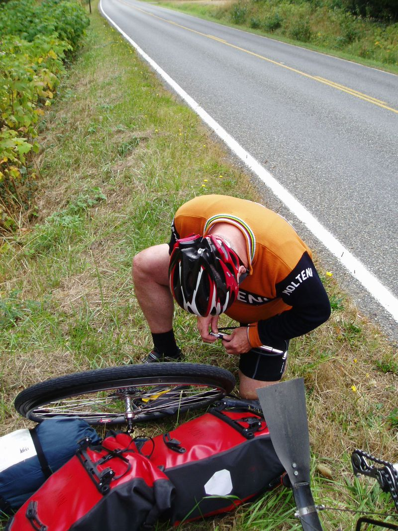 Fixing-Flat-Bicycle-Tire-