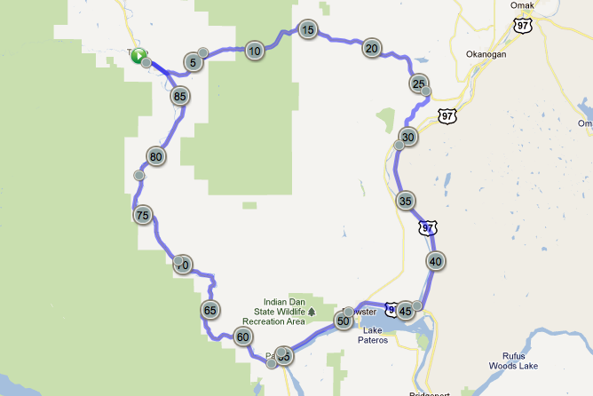 Loup Loup Loop Map