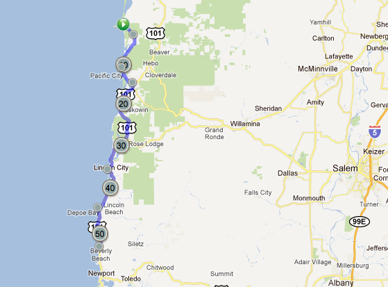 Campground Map Oregon Images