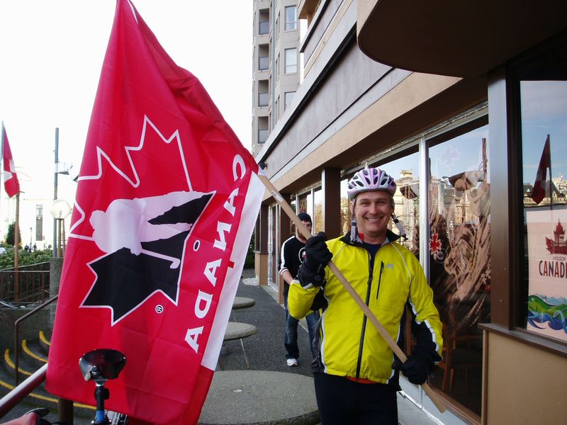 Forced-to-wave-the-Canadian-flag